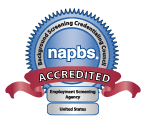 Castle Branch is NAPBS certified. This image links to the NAPBS website.